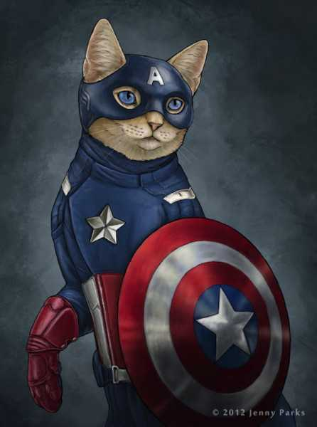 Cats As Avengers