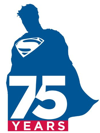 Superman Anniversary Logo