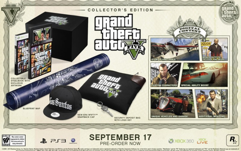 Grand Theft Auto V Special and Collector's Editions