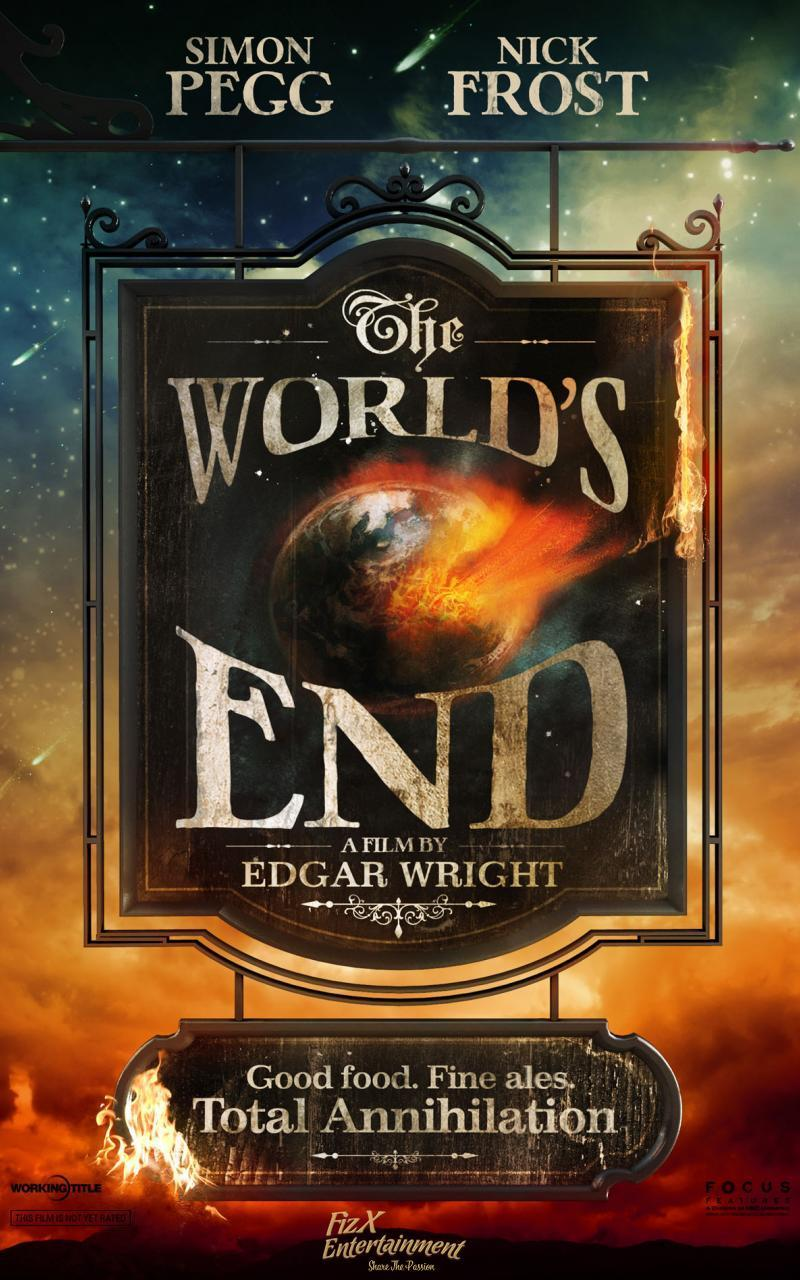 the worlds end hd poster