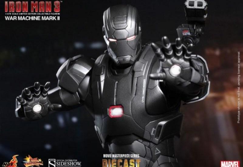 Hot Toys' IRON MAN 3 War Machine Mark II Figure