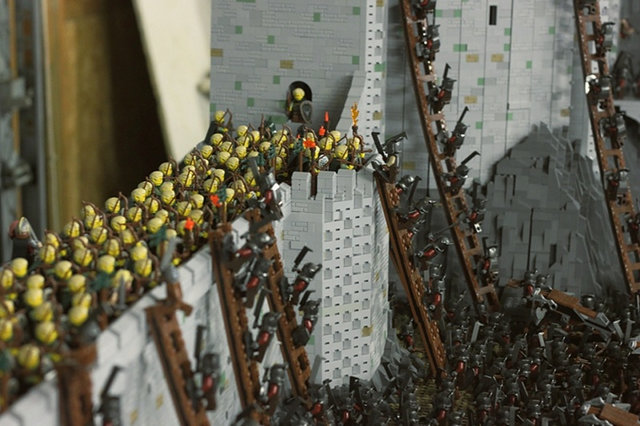 Lord Of The Rings Battle Of Helm's Deep legos
