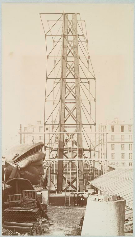Rare Photos of the Statue of Liberty