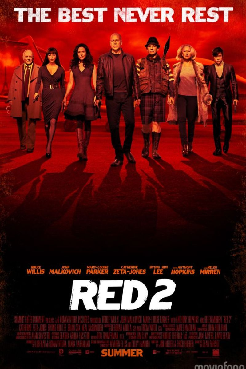New Character Poster for RED 2