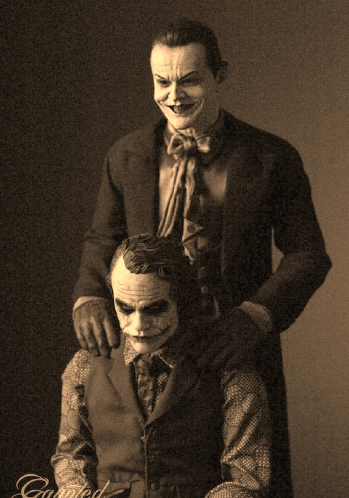 both jokers in one photo