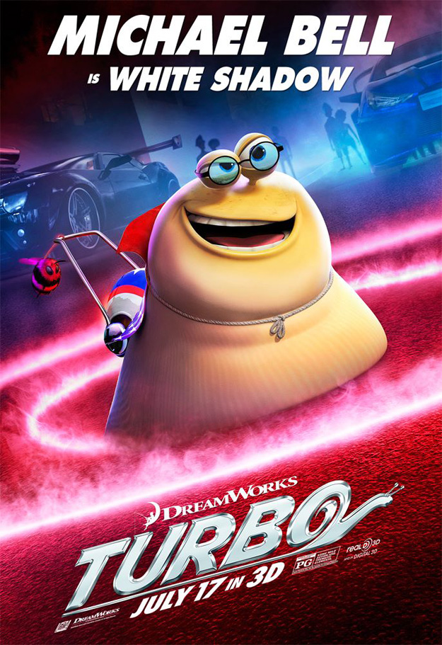 Turbo character posters