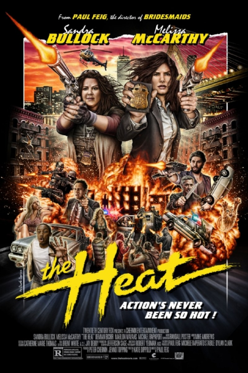 The Heat 80's Style Mondo Poster