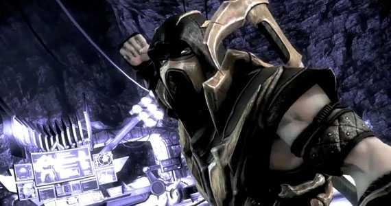 Scorpion in Injustice Gods Among us