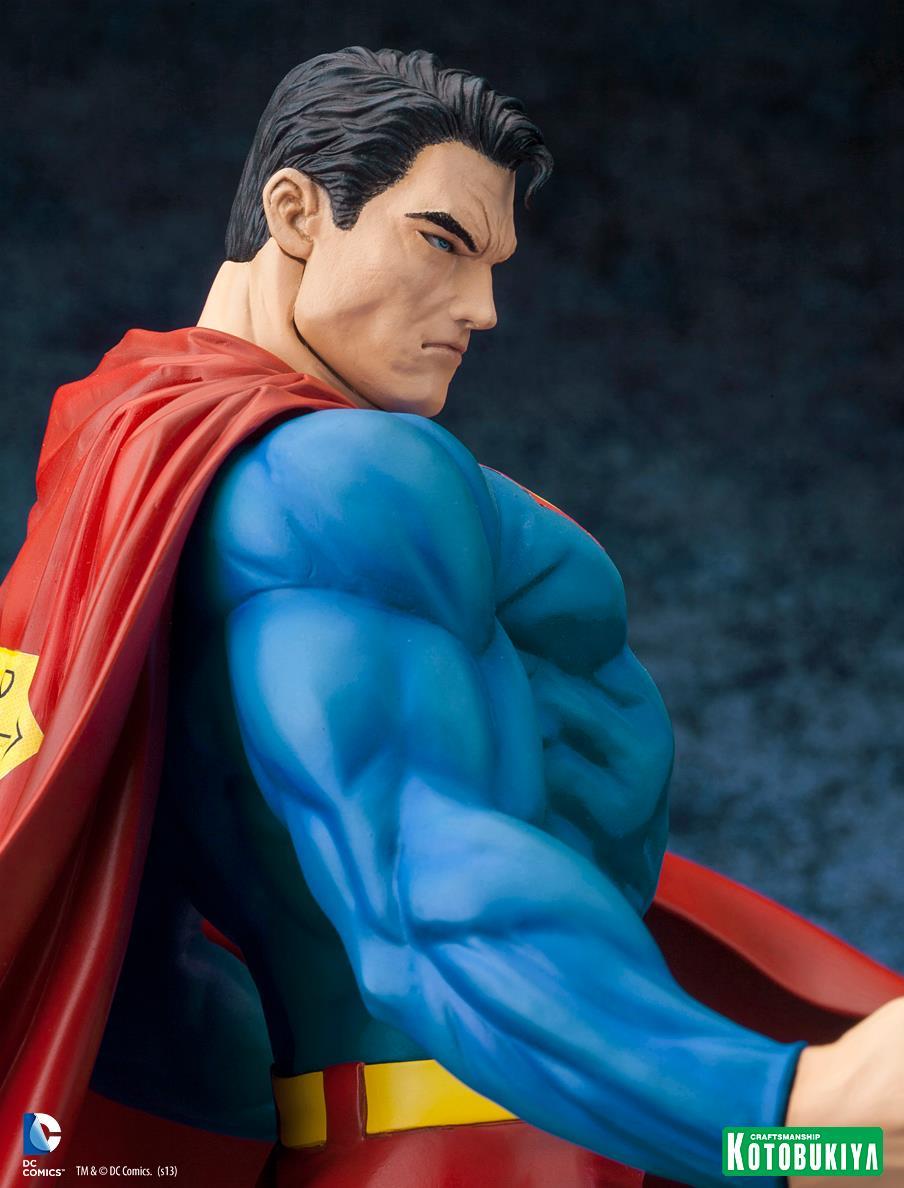 Kotobukiya's original Superman figure