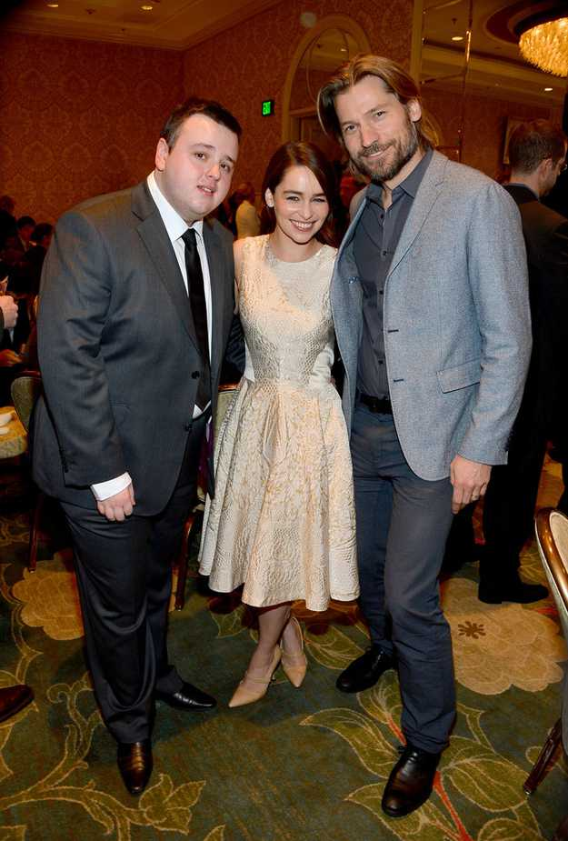 Sam hanging with Dany and Jaime
