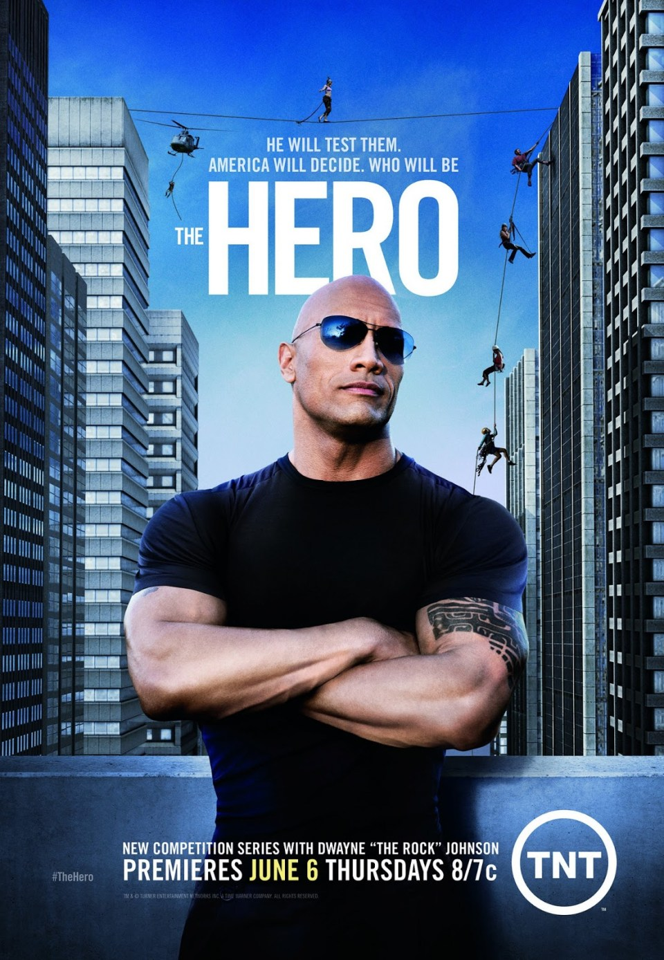 The hero dwayne poster