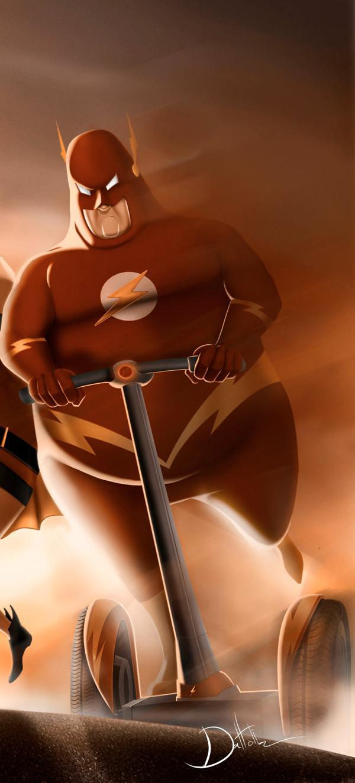 Fat Superheroes