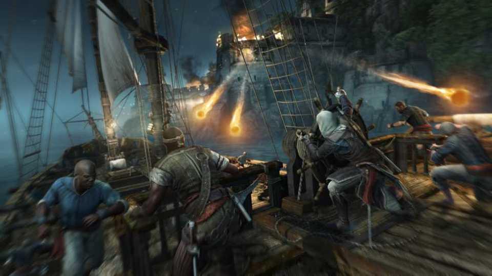 Assassin's Creed 4′ Screenshots