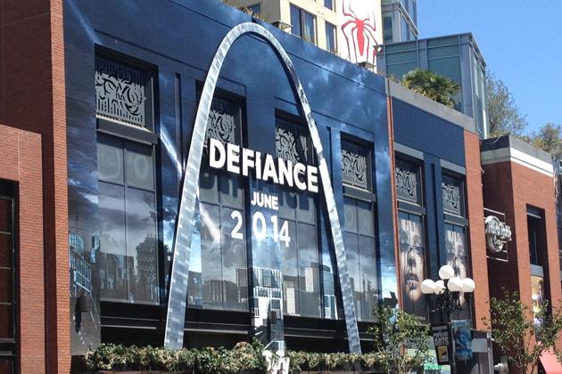 defiance comic con 2013