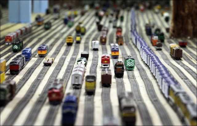 Gigantic Model Railway