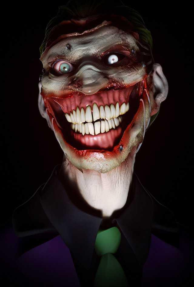 Terrifying Joker Portraits