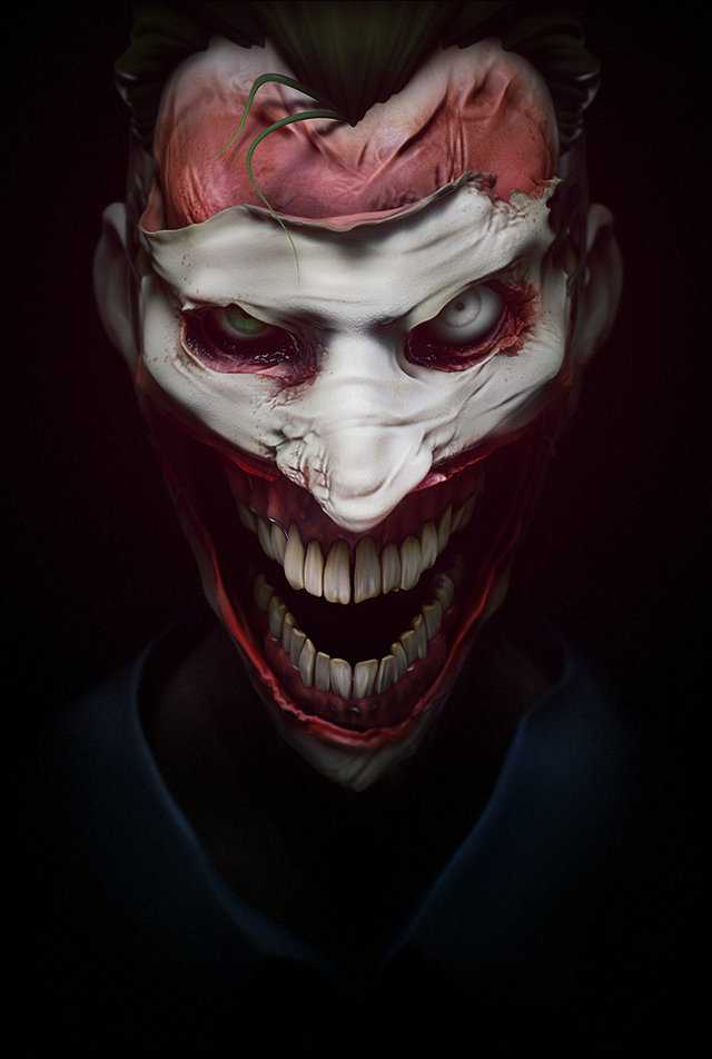 Terrifying Joker Portraits