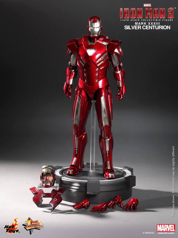 Silver Centurion Iron Man Hot Toys Figure