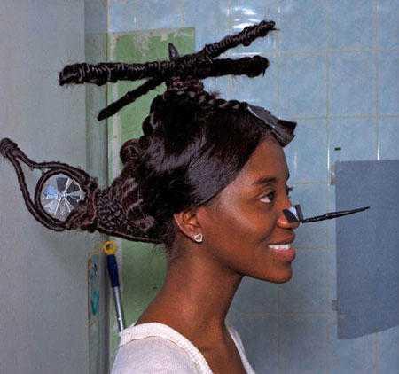 Worlds Weirdest Haircuts