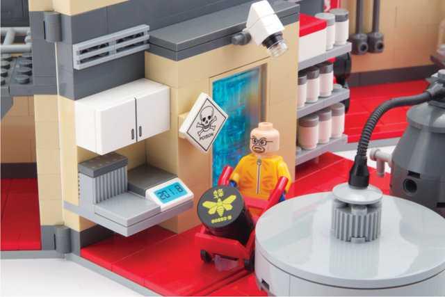 Breaking Bad LEGO Playset