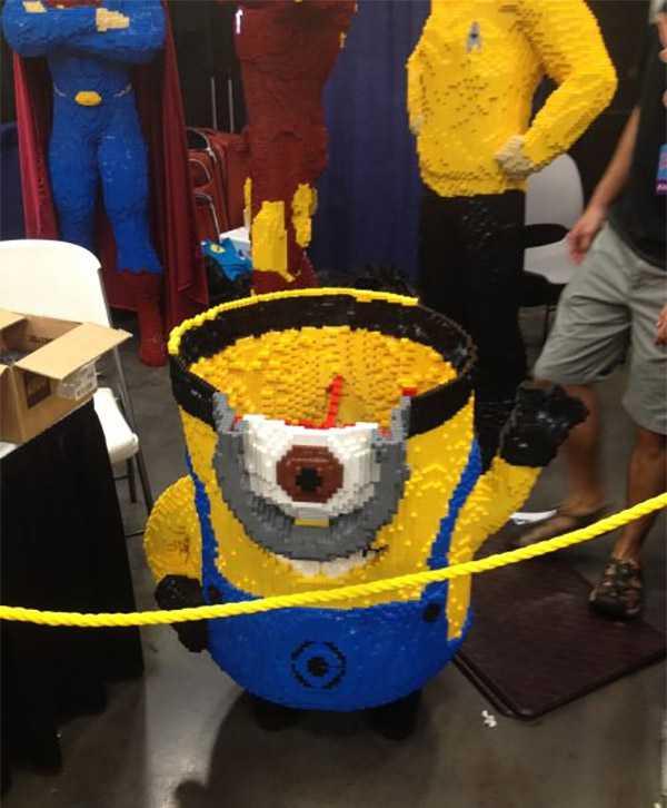 Teen Builds 24,0000 Brick LEGO Minion
