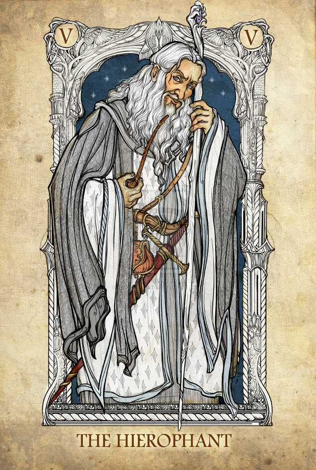 Lord Of The Rings Characters As Tarot Cards