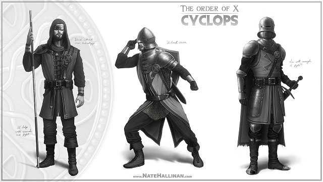 X-Men Reimagined In Medieval Times