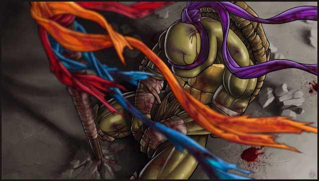 Ultra Sad Ninja Turtle Fan Art