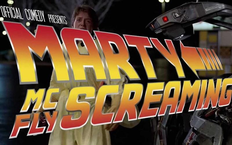 Marty McFly Scream