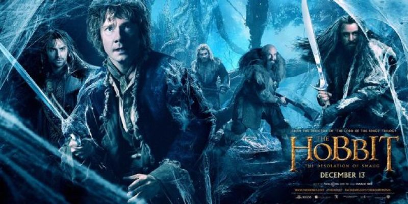 The Hobbit: The Desolation of Smaug banner
