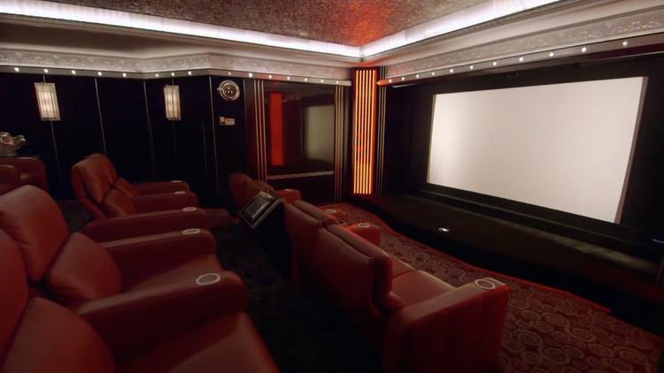 million dollar private theater