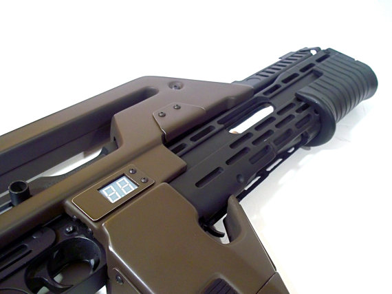 Functional ALIENS M41-A Pulse Rifle