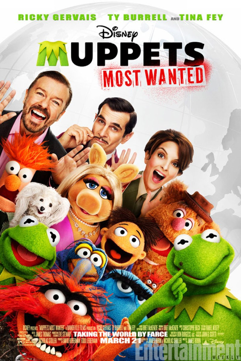Muppets Most Wanted poster