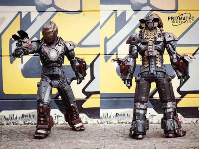 Ultimate Iron Man Cosplay