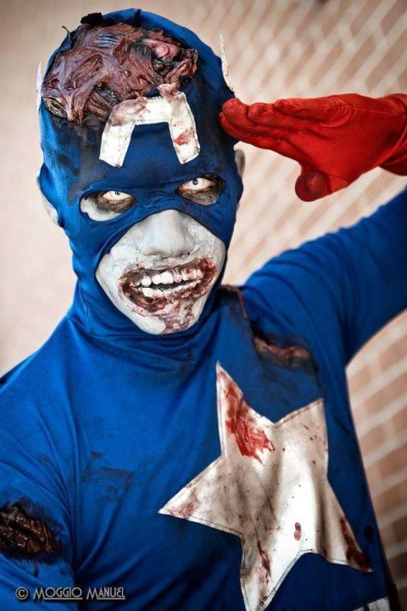 Captain America Undead cosplay