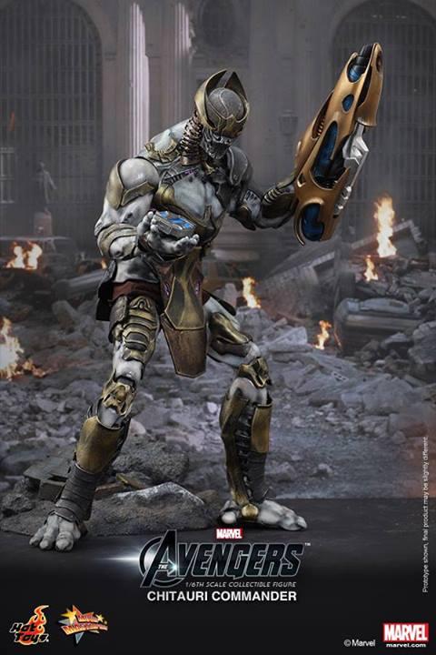 Chitauri Commander Collectible Figure