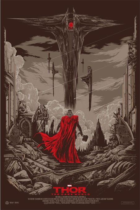 THOR dark world Mondo Posters