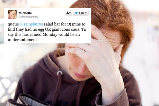 First-World Problems on Twitter