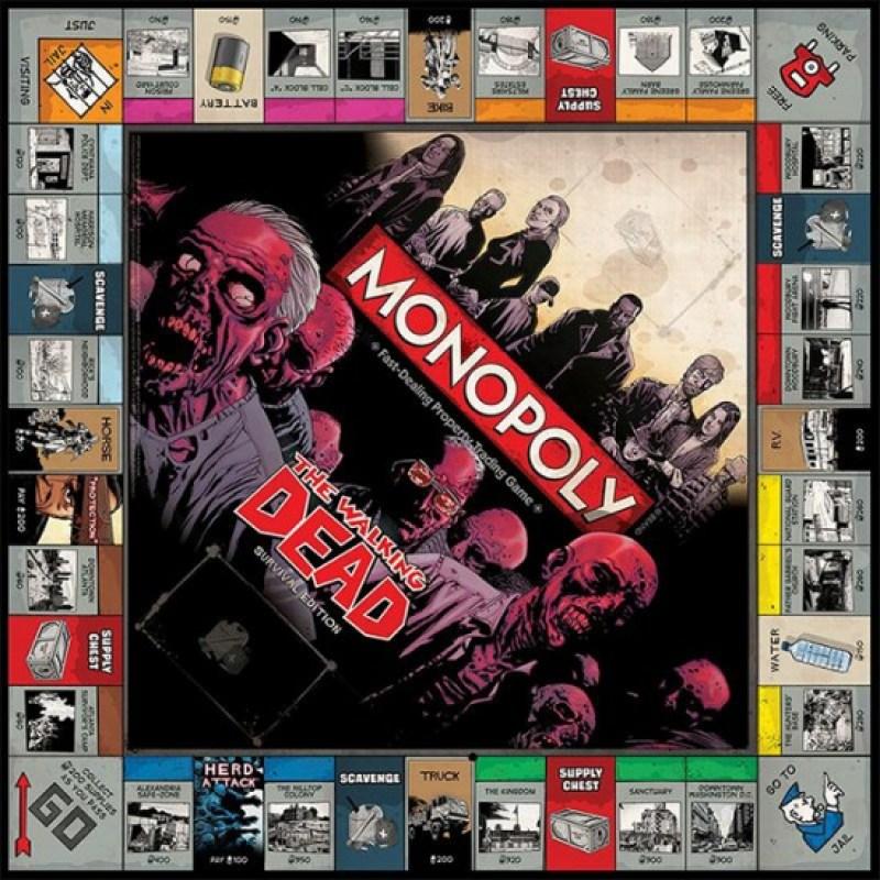 Walking Dead Version Of Monopoly