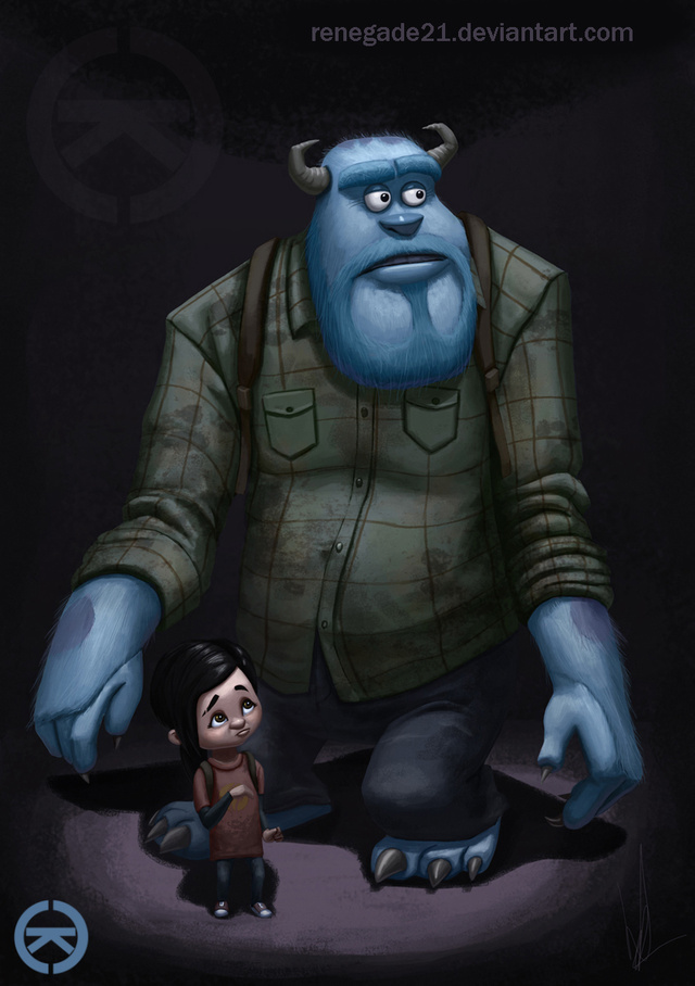 Game Characters as Pixar Characters
