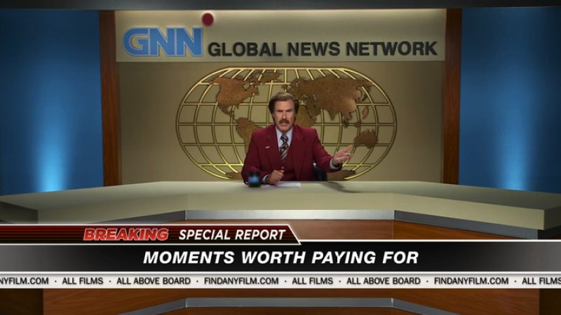 Ron Burgundy Goes Off Piracy and Pirate Hookers