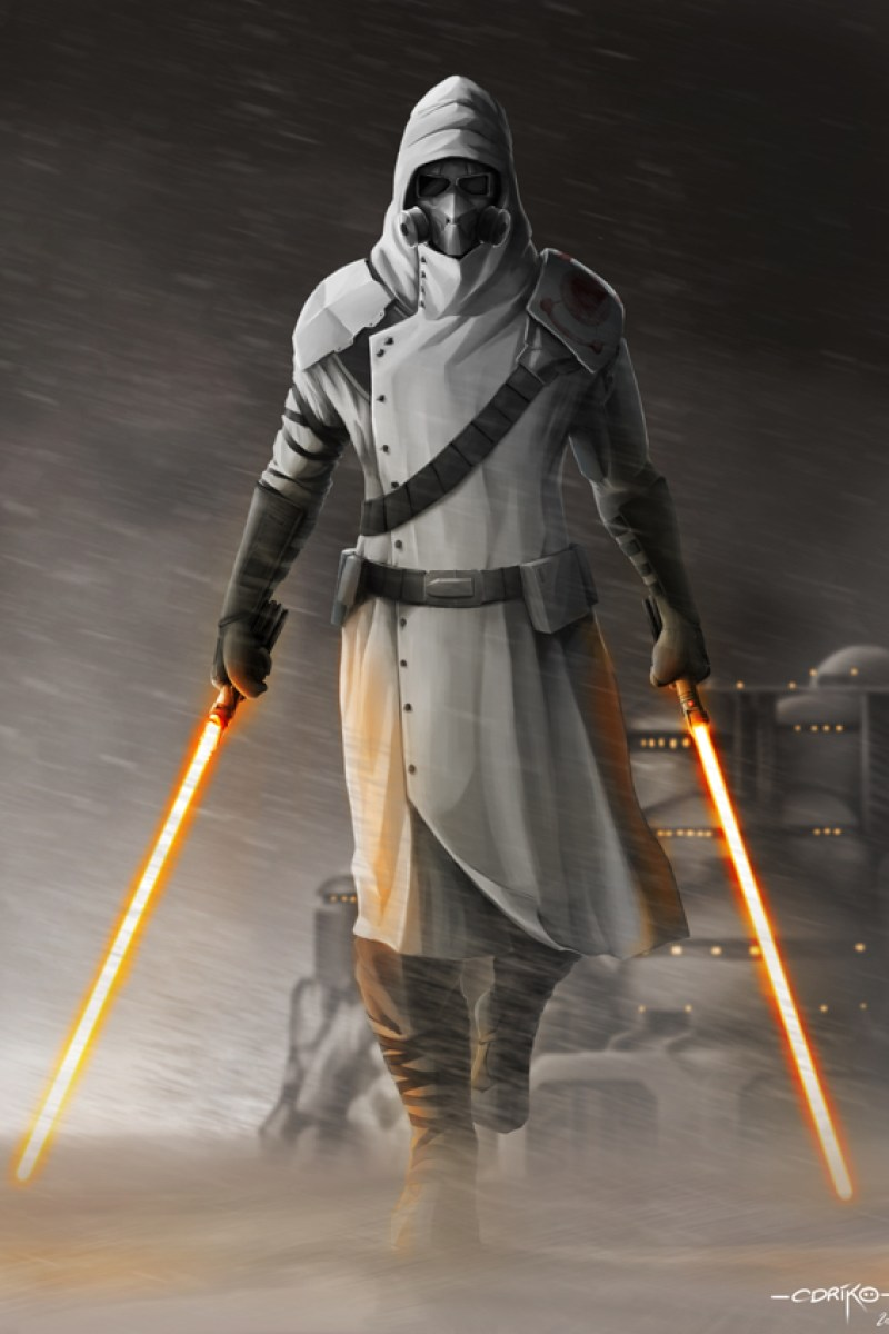 STAR WARS Jedi Mercenary Fan Art