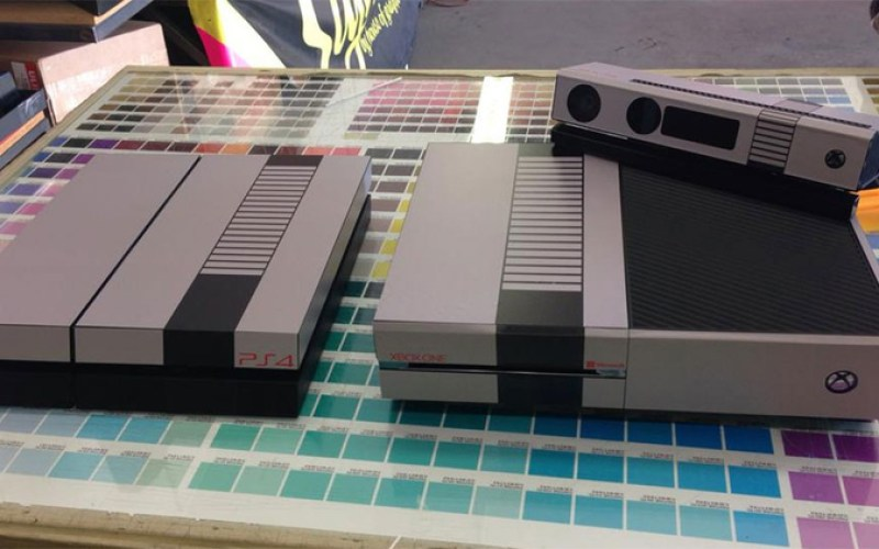 Next Gen Consoles with Retro Skins