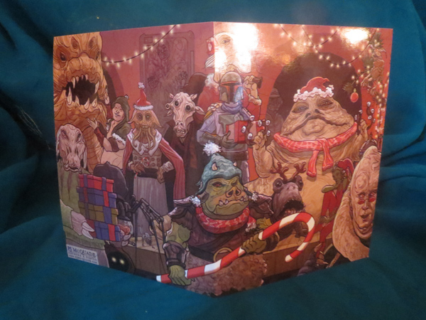 These Are Star Wars Christmas Cards You're Looking For