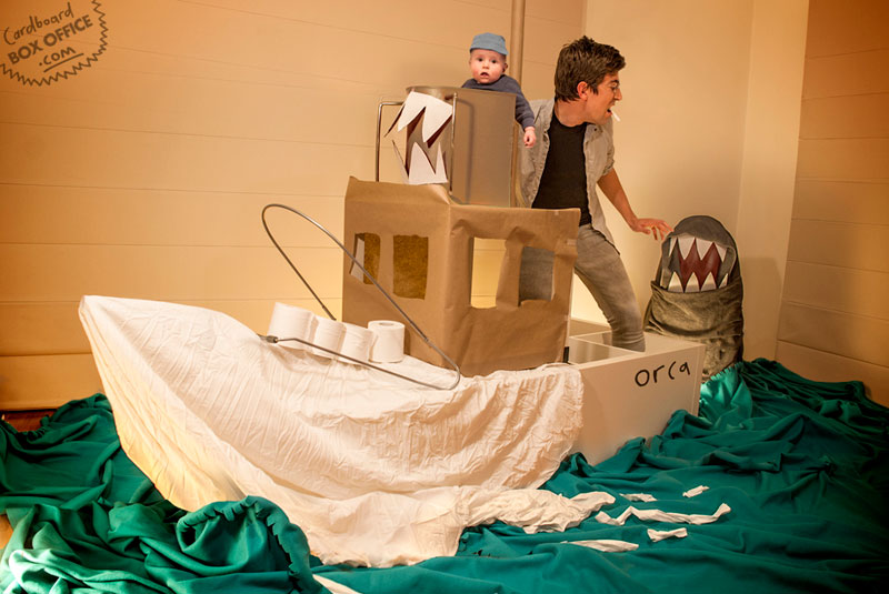 jaws-parents-recreate-movie-scenes-with-baby-son-and-cardboard