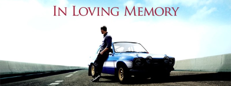 Video Tribute to Paul Walker From Universal Pictures