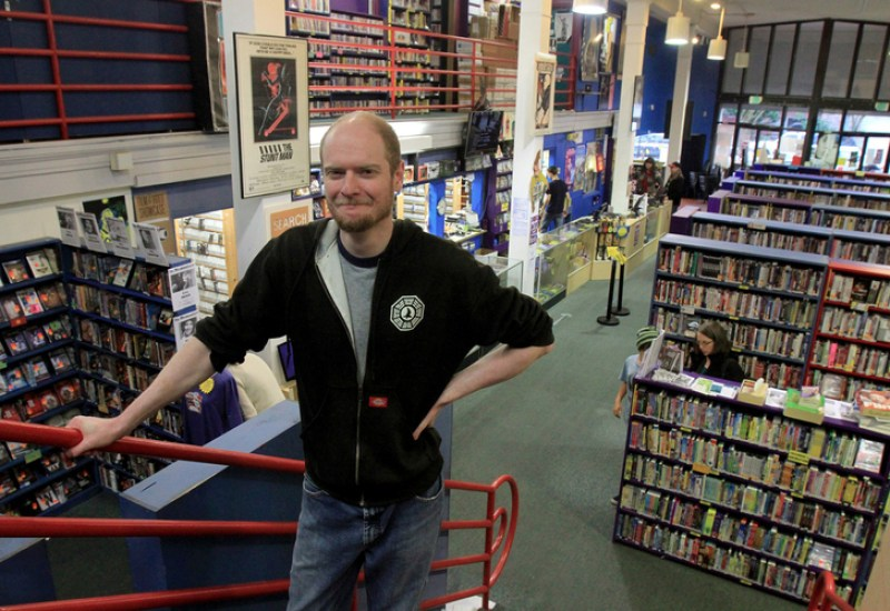 World's Largest Independent Video Store 'SCARECROW VIDEO'