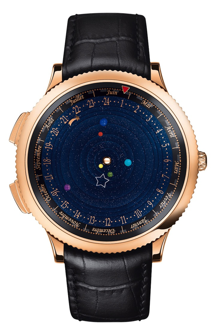 Six Planets Orbit the Sun Inside This Innovative Watch