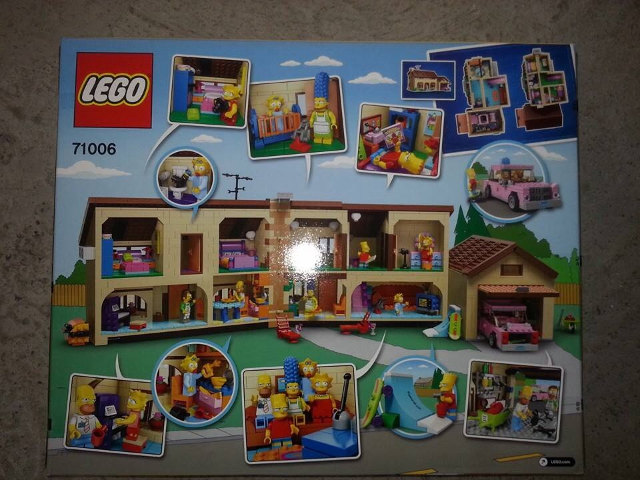 Simpsons House Lego Set