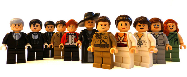 This Lego Downton Abbey Would Not Be Allowed At Downton Abbey